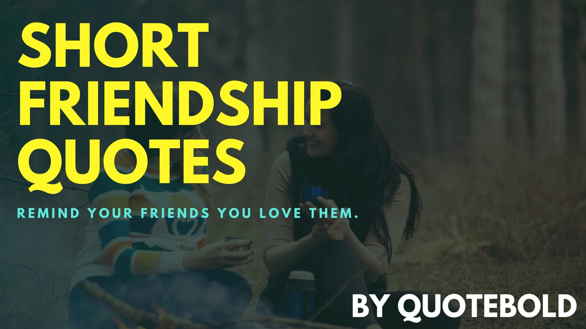 Short Friendship Quotes Image