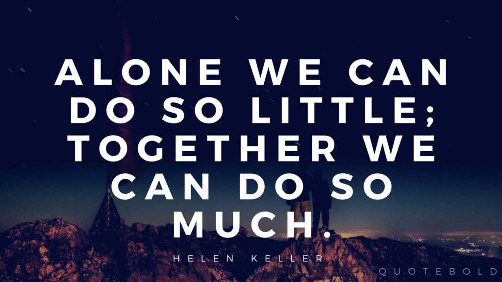 40 Teamwork Quotes w Images to Encourage Collaboration Quote Bold Interesting Teamwork Quotes